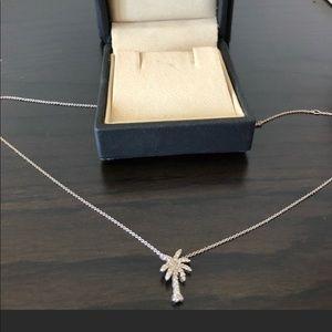 Roberto Coin Tiny Treasures Palm Tree Necklace